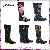 §Joules Clothing§ 国内発送 プリント入りレインブーツ