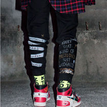 BLACKBLOND(ブラックブロンド) パンツ ☆BLACKBLOND☆ BBD Brutal Graffiti Jogger Pants (Black)