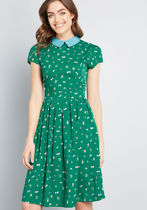 Original Take Collared Dress