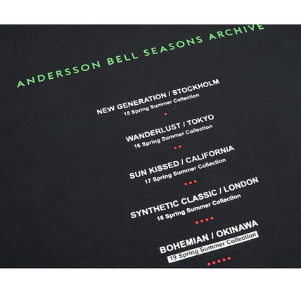 ANDERSSON BELL Tシャツ・カットソー ANDERSSON BELL正規品★シーズンアーチブロンT★UNISEX(18)