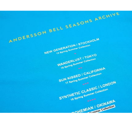 ANDERSSON BELL Tシャツ・カットソー ANDERSSON BELL正規品★シーズンアーチブロンT★UNISEX(19)