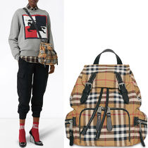 BB150 SMALL RUCKSACK IN VINTAGE CHECK