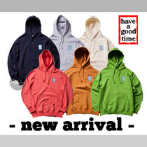 (( have a good time)) Mini Blue Frame Pullover Hoodie NE269