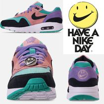 "Big Kids' ナイキ☆ Nike Air Max 1 Have a Nike Day ""大人もok"""