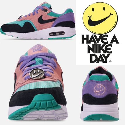 """Nike キッズスニーカー Big Kids' ナイキ☆ Nike Air Max 1 Have a Nike Day """"大人もok"""""""