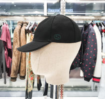 GUCCI COTTON GG LOGO BASEBALL CAP