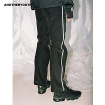 ANOTHERYOUTH(アナザーユース) パンツ ANOTHERYOUTH正規品★19SS★ジッパーパンツ★UNISEX
