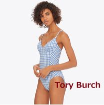 Tory Burch PLAID UNDERWIRE ワンピース