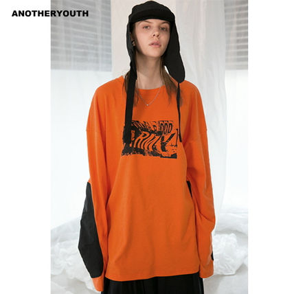 ANOTHERYOUTH Tシャツ・カットソー ANOTHERYOUTH正規品★19SS★プリンティングロンT★UNISEX