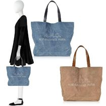 最終Sale! 関税込☆A.P.C☆Denim and Leather Tote Bag 2色