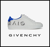 19SS【GIVECHY】ロゴ レザー ロースニーカー