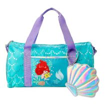 Ariel and Flounder Duffle Bag for Kids - The Little Mermai