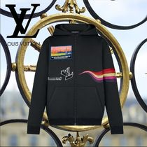 19SS Louis Vuitton(ルイヴィトン) トラックトップ 黒 ロゴ