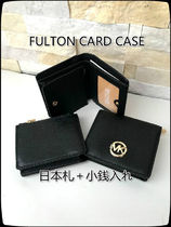 激安 Michael Kors★FULTON CARD CASE*日本札+小銭入れ