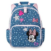 Minnie Mouse Denim Backpack for Kids - Personalized