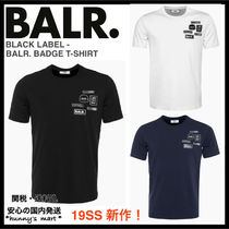 【BALR.】関送込 BLACK LABEL - BALR. BADGE Tシャツ