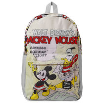 Mickey Mouse and Donald Duck Hawaiian Holiday Backpack by