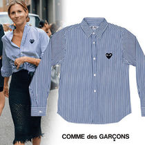 COMME des GARCONS(コムデギャルソン) ブラウス・シャツ 《大人気》COMME des GARCONS Play レディース ストライプシャツ