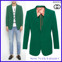 GUCCI★グッチ★素敵!Green Wool Jacket