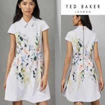 TED BAKER★2019SS CHARSY 花柄 ワンピース ホワイト 関税送料込