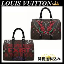 efe71a86ea PHILIP KARTO Butterfly Speedy 35 bag in Monogram canvas