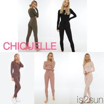CHIQUELLE(シケーレ) ルームウェア・パジャマ ★日本未入荷★ CHIQUELLE/ Relax Time Rib 上下セット -2019SS-
