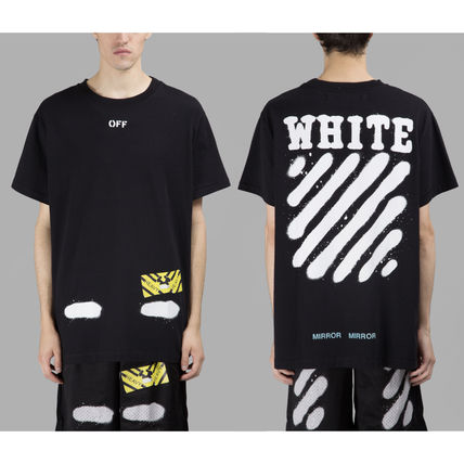 Off-White Tシャツ・カットソー 【OFFWHITE】大人気/日本完売/DIAGONALS SPRAY/Tシャツ/全2色(3)
