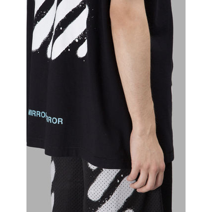 Off-White Tシャツ・カットソー 【OFFWHITE】大人気/日本完売/DIAGONALS SPRAY/Tシャツ/全2色(7)