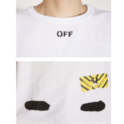 Off-White Tシャツ・カットソー 【OFFWHITE】大人気/日本完売/DIAGONALS SPRAY/Tシャツ/全2色(13)