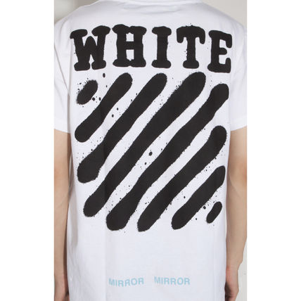 Off-White Tシャツ・カットソー 【OFFWHITE】大人気/日本完売/DIAGONALS SPRAY/Tシャツ/全2色(14)