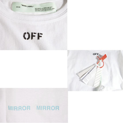 Off-White Tシャツ・カットソー 【OFFWHITE】大人気/日本完売/DIAGONALS SPRAY/Tシャツ/全2色(15)