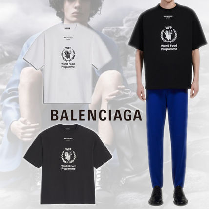 ●送料込●BALENCIAGA●2019SS●WORLD FOOD PROGRAMME Tシャツ