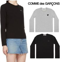 ☆COMME des GARCONS☆Lady's ブラックロゴ ロングTシャツ