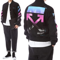 Off-White_DIAG GRADIENT VARSITY☆正規品・安全発送☆