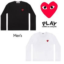 ☆COMME des GARCONS☆Men's レッドハートロゴ ロングTシャツ