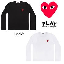 ☆COMME des GARCONS☆Lady's レッドハートロゴ ロングTシャツ