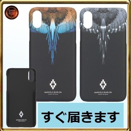 ◇Marcelo Burlon◇ Wings iPhone Xケース 関税送料込!!
