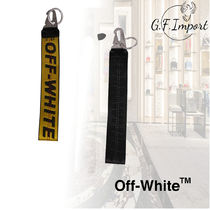 【VIP SALE!!】OFF-WHITE☆INDUSTRIAL BELT KEY CHAIN