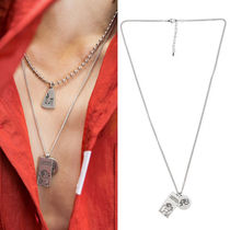★ANOTHERYOUTH★日本未入荷 韓国ネックレス 2 pendant necklace