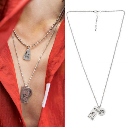 ANOTHERYOUTH ネックレス・チョーカー ★ANOTHERYOUTH★日本未入荷 韓国ネックレス 2 pendant necklace