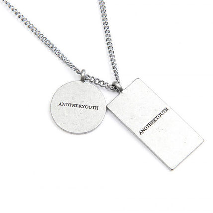 ANOTHERYOUTH ネックレス・チョーカー ★ANOTHERYOUTH★日本未入荷 韓国ネックレス 2 pendant necklace(8)