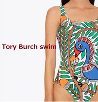 Tory Burch PRINTED TANK SUIT ワンピース