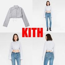 春の新作!!入手困難!!【KITH】CROPPED OXFORD SHIRT