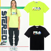 STEREO VINYLS COLLECTION(ステレオビニールズコレクション) Tシャツ・カットソー 日本未入荷 [SS19 STEREO X FILA] Color of Sound S/S Tee 2色