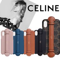【CELINE】IPHONE X & XS ストラップ付きケース (IPHONE CASE)