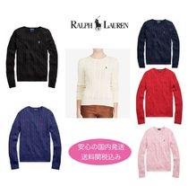 【安心の国内発送】Ralph Lauren Cable Knit Sweater セール!