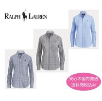 【国内発送】Ralph Lauren Slim  Gingham Shirt  セール!
