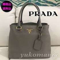PRADA SALE 2WAYトートバッグ VITELLO PHENIX