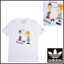 Adidas_beavis butt head mens polo shirt☆男女OK!・大人気☆