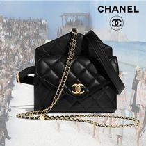 【19SS】CHANEL★カーフスキンウエスト バッグ